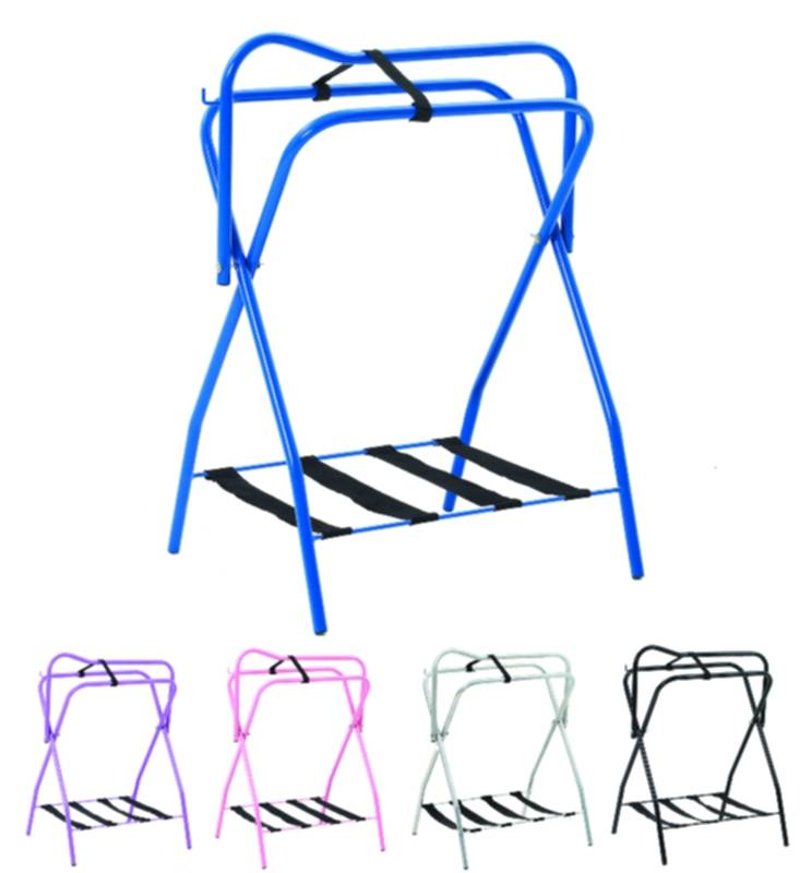 Equi-Essential Folding Saddle Rack with Web Bottom