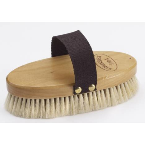 Equi-Essentials Wood Backed Goat Hair Body Brush