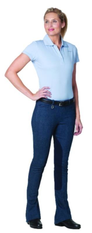 Ovation Ladies Side Zip Lucky Brand Denim KY Jodhpurs