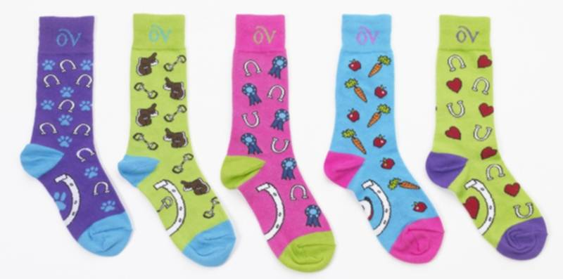 Ovation Kids Lucky Crew Socks