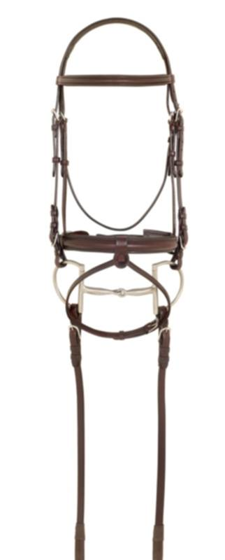 Ovation American Leather Wide Nose Padded Bridle