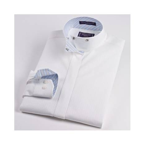 Beacon Hill Fantasy Wrap Collar Shirt - Girls
