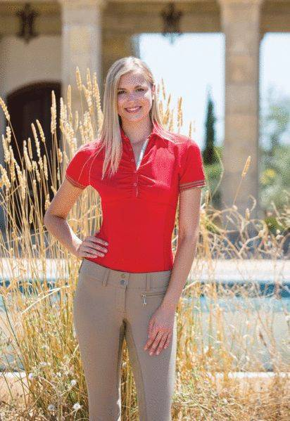 Goode Rider Tech Polo Shirt - Ladies
