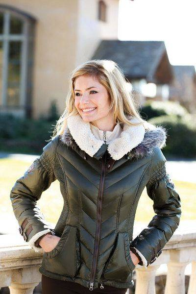 Goode Rider Heritage Down Jacket - Ladies