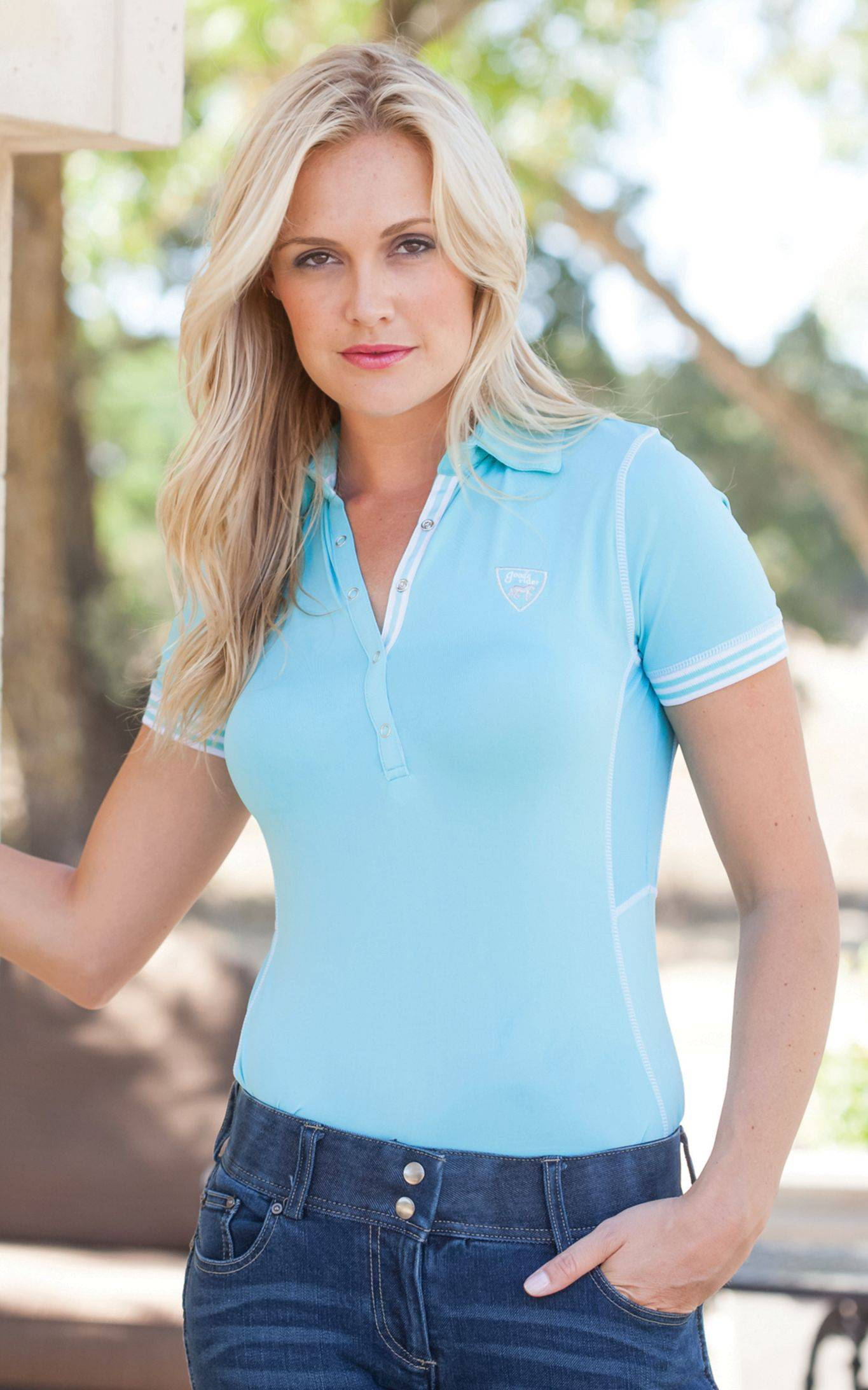 Goode Rider Sport Polo - Ladies