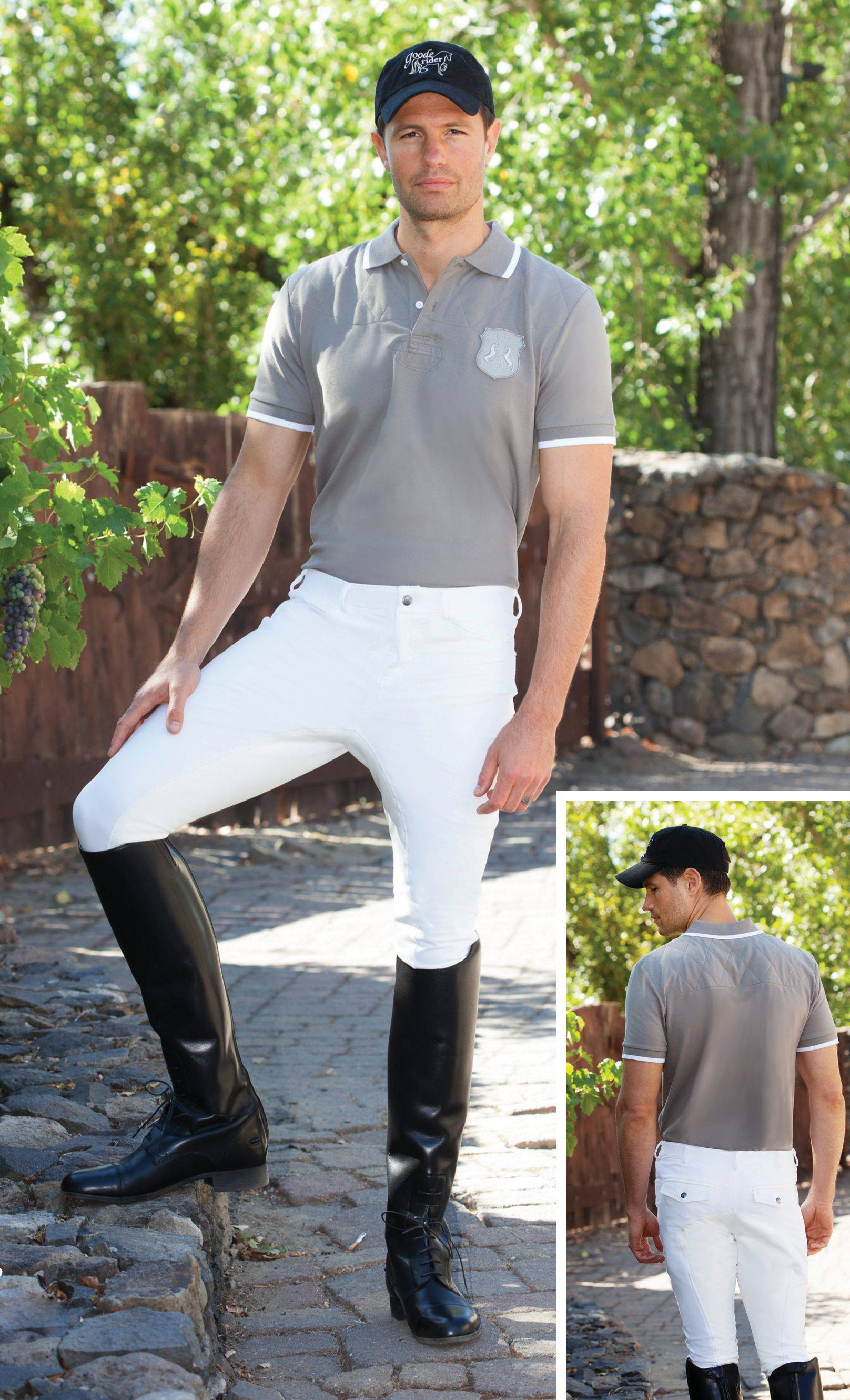 Goode Rider Pro Breeches - Mens, Full Seat