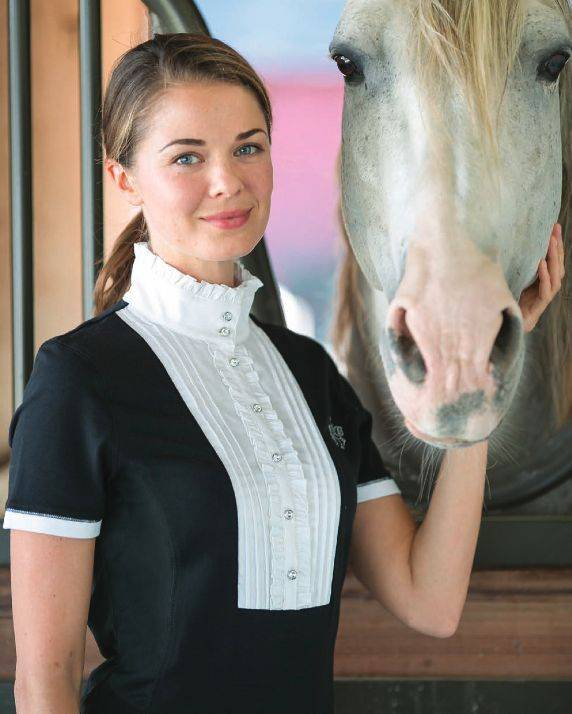 Goode Rider Noble Show Shirt - Ladies