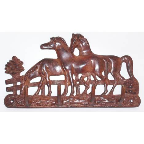 Horse Fare Horse Family Key Holder