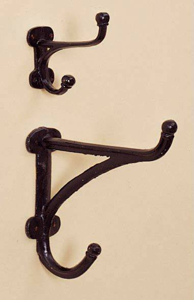 Horse Fare Cast-Iron Harness Hooks