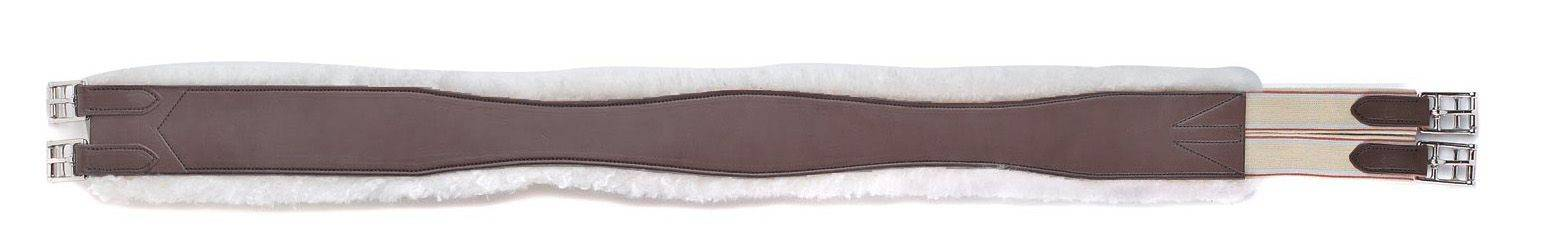 HFP Overlay Girth with Removable Sheepskin
