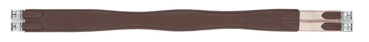 HFP Fancy Stitch Overlay Girth with Removable Sheepskin