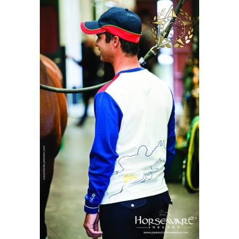 Pessoa by Horseware Mens Salvador Long Sleeve Tee Shirt