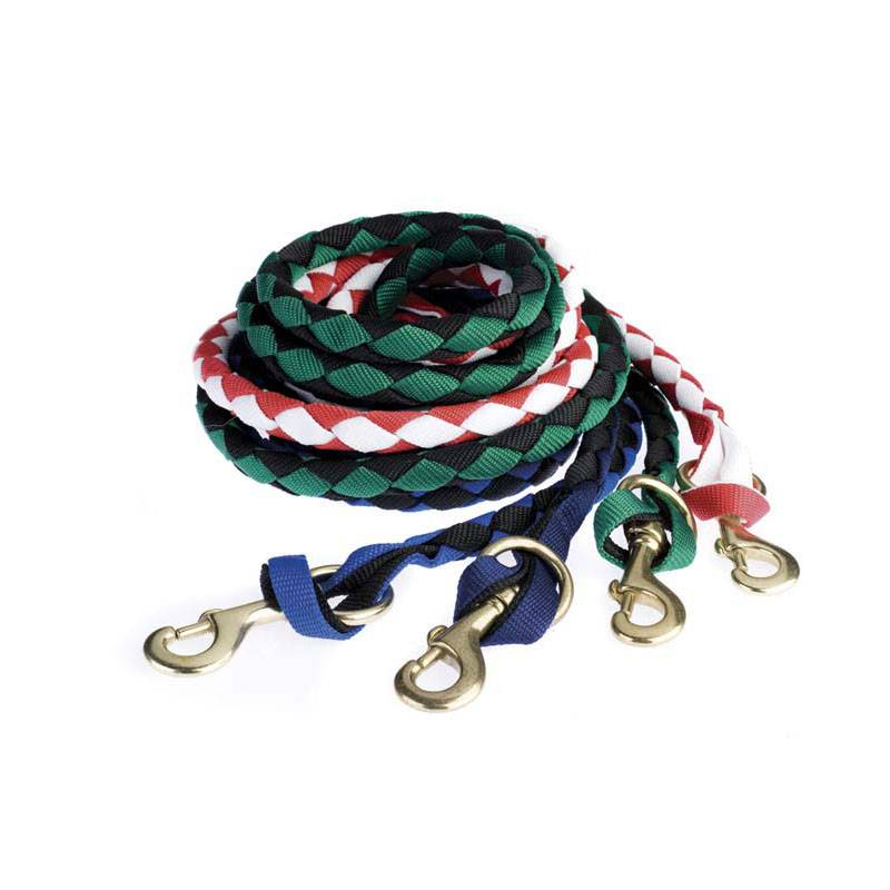 Horze Braided Nylon Lead Shank
