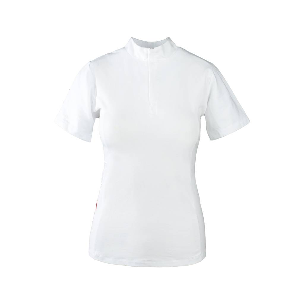 Horze Ladies Show Off Short Sleeve Competition Shirt