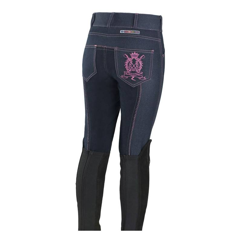 Horze Kids Embroidery Full Seat Breeches