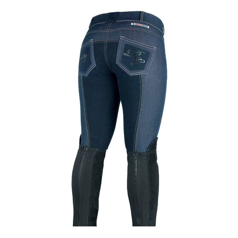 Horze Ladies Silvia Full Seat Denim Breeches