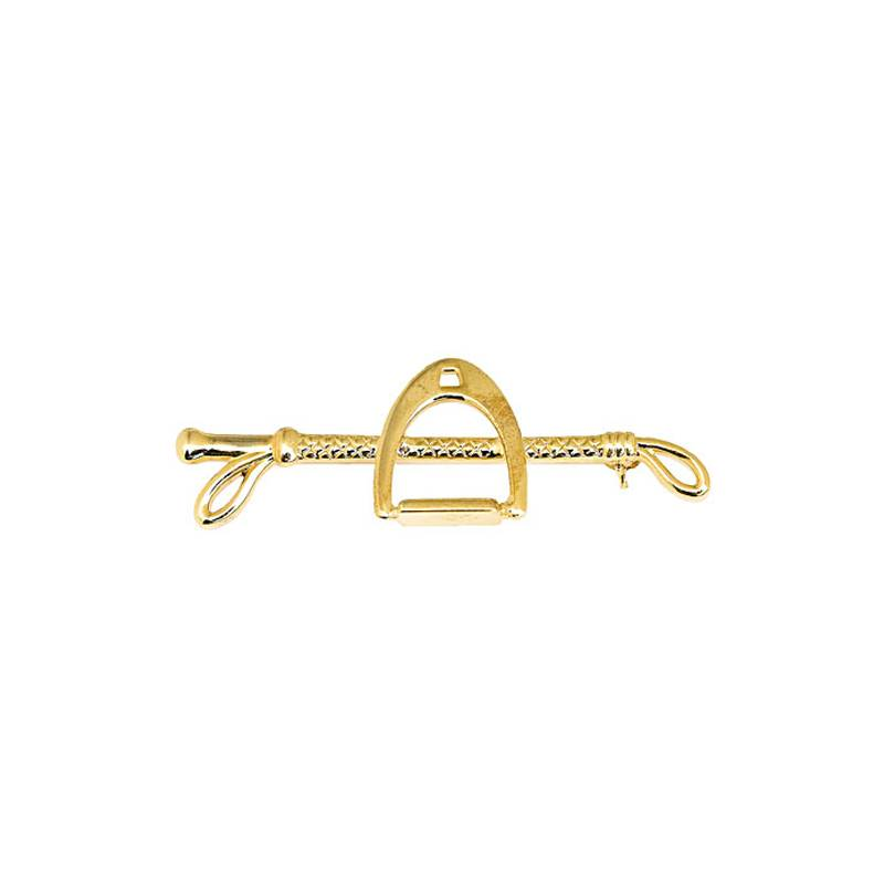 Horze Stirrup/Whip Stock Tie Pin