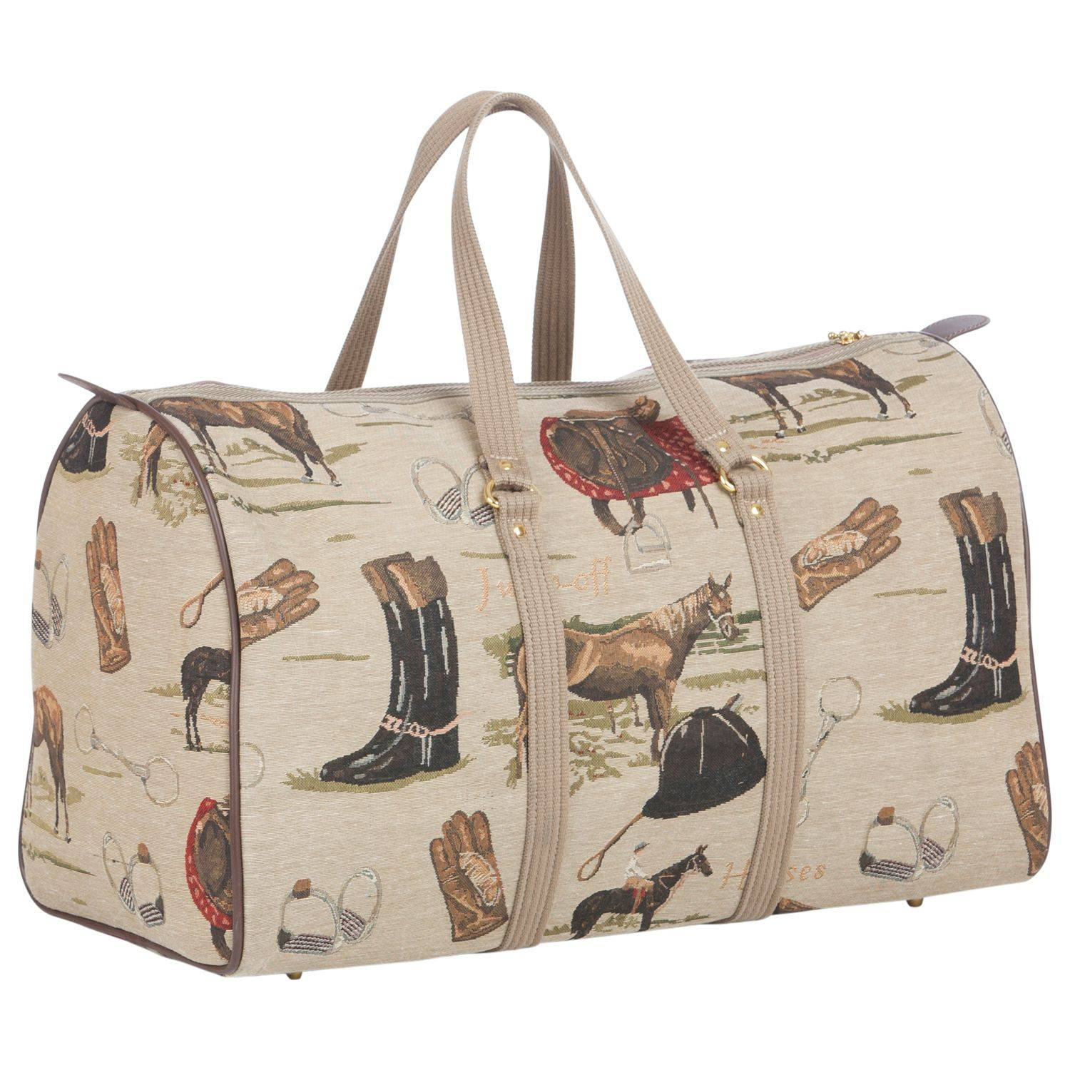 Huntley Equestrian Tapestry Bag