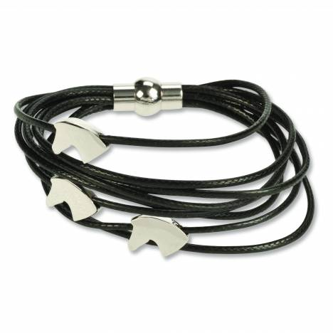 Kelley 3 Horse Head Bracelet