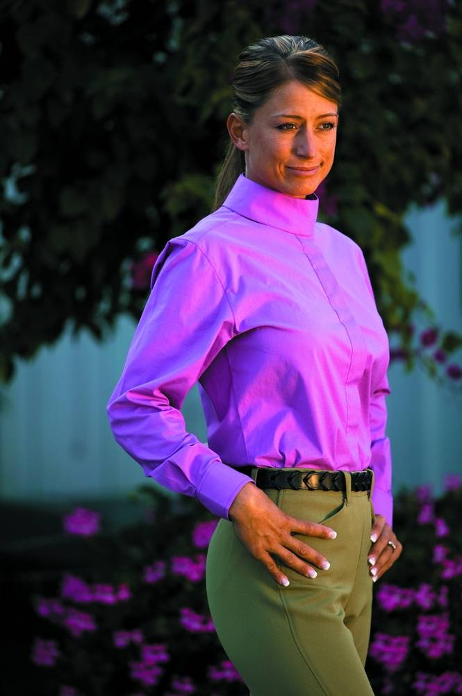 TuffRider Elegance Long Sleeve Show Shirt Ladies