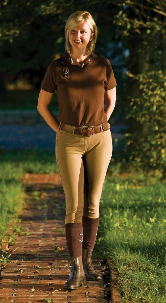 Tuffrider Ladies Piaffe Full Seat Riding Breeches
