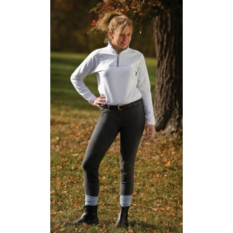 TuffRider Cotton Low Rise Riding Breeches - Ladies
