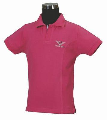 Tuffrider Kids Short Sleeved Polo Shirt