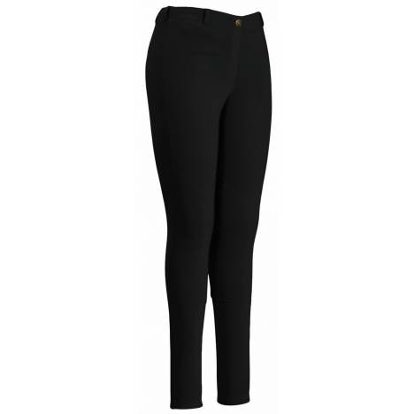 Tuffrider EcoGreen Bamboo Riding Tights - Ladies, Knee Patch