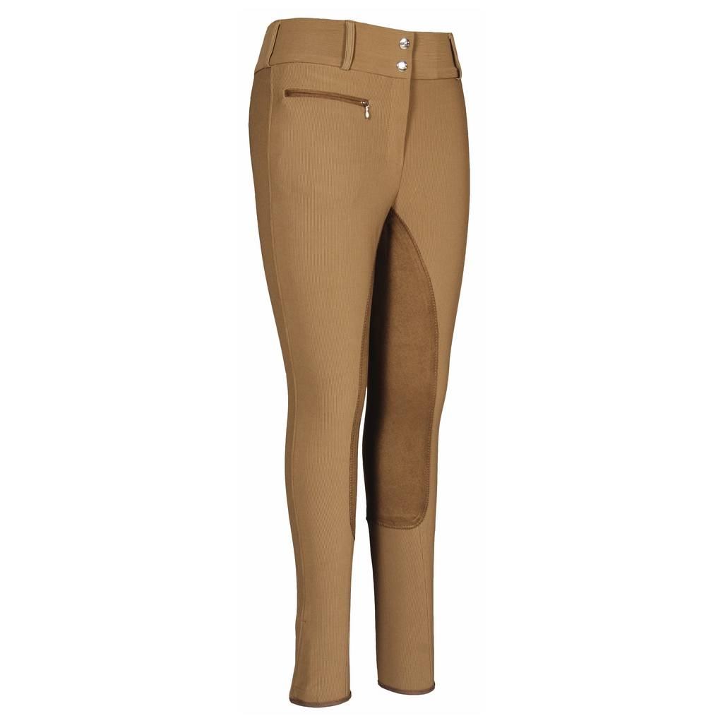 TuffRider Ladies Ribb Wide Waistband Full Seat Breech