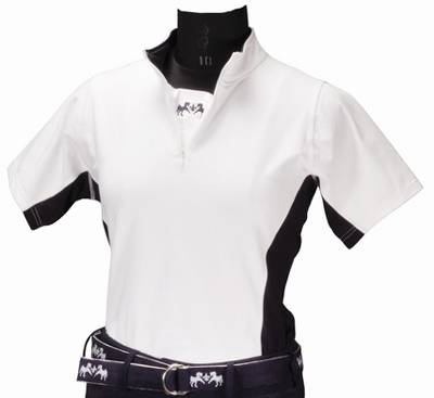Equine Couture Ladies Sportif Technical Short Sleeve Shirt