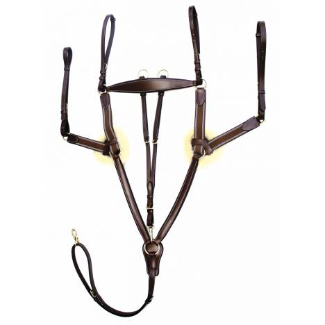 Henri De Rivel Pro 5 Point Elastic Breastplate