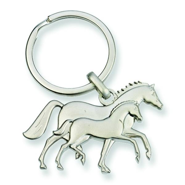 Kelley 3D Mare and Foal Key Chain
