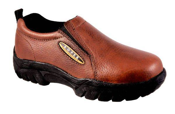 Roper Classic Slip-On Shoes - Mens, Brown