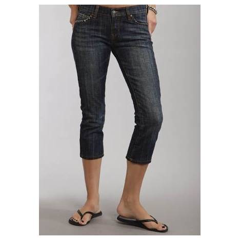 Stetson Slim Leg Denim Crops - Ladies