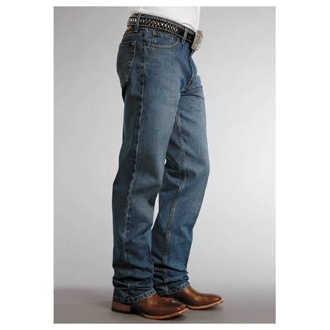 Stetson 1520 Fit Classic Jeans - Mens, Washed
