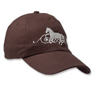 Kelley Galloping Scroll Cap - Ladies