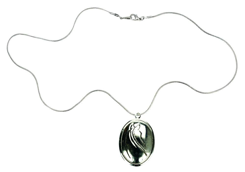Kelley Locket Necklace