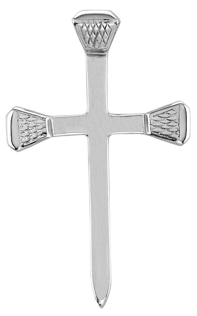 Kelly Herd Smooth Nail Cross Pendant