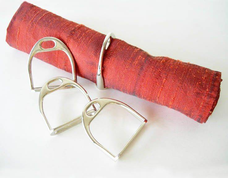 LILO Stirrup Napkin Rings Set