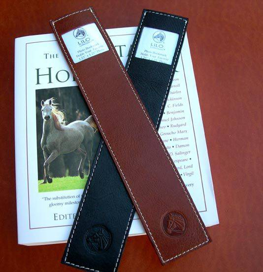 LILO Photo Leather Bookmark