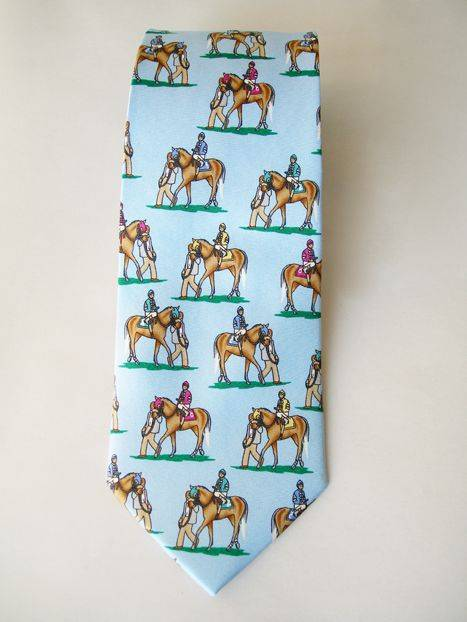 LILO Mounted Up Silk Equestrian Neck Tie