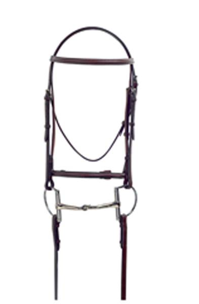 Masters Square Raised Bridle with Laced Reins