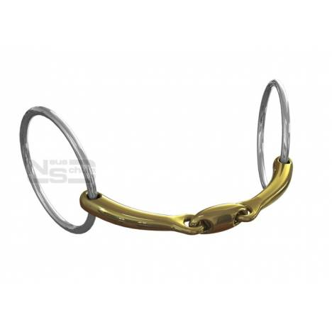 Neue Schule Team Up Loose Ring Snaffle - 12mm
