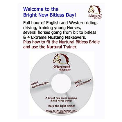 Nurtural Horse ''A Bright New Bitless Day'' DVD