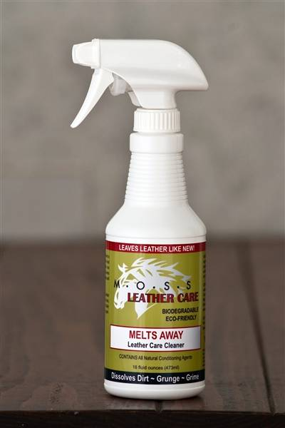 MOSS Melts Away Leather Cleaner & Conditioner