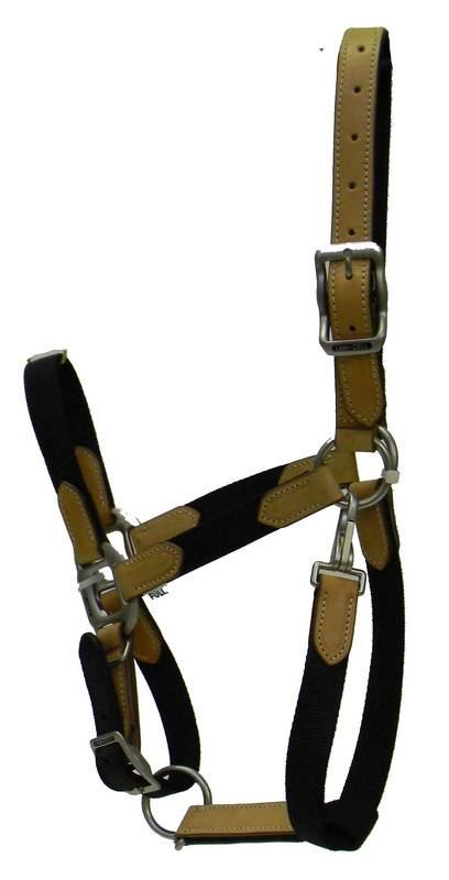 Lami-Cell Leather Trim Halter - Full Size