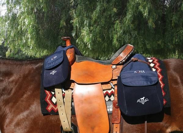 Professionals Choice AQHA Saddle Bag (Front or Rear)
