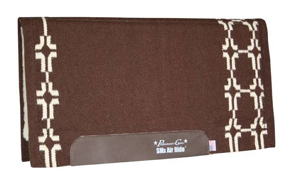 Professionals Choice SMX- H.D. Air Ride Western Show Pad: Cross Plains Pattern