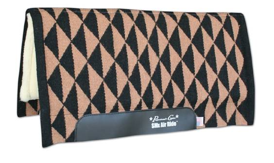 Professionals Choice SMX- H.D. Air Ride Western Show Pad: Tomahawk Pattern