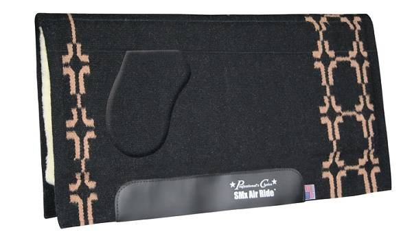 Professionals Choice SMX- Air Ride OrthoSport Western Show Pad: Cross Plains Pattern